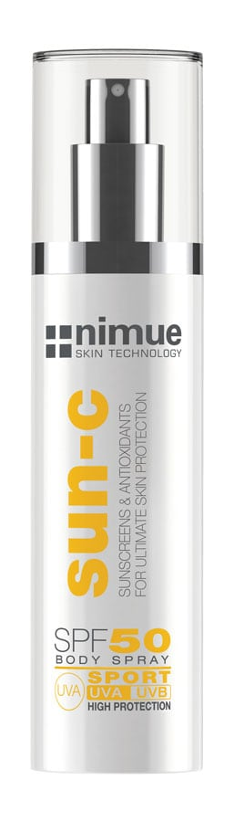 SPF50-Body Spray Sport Niume